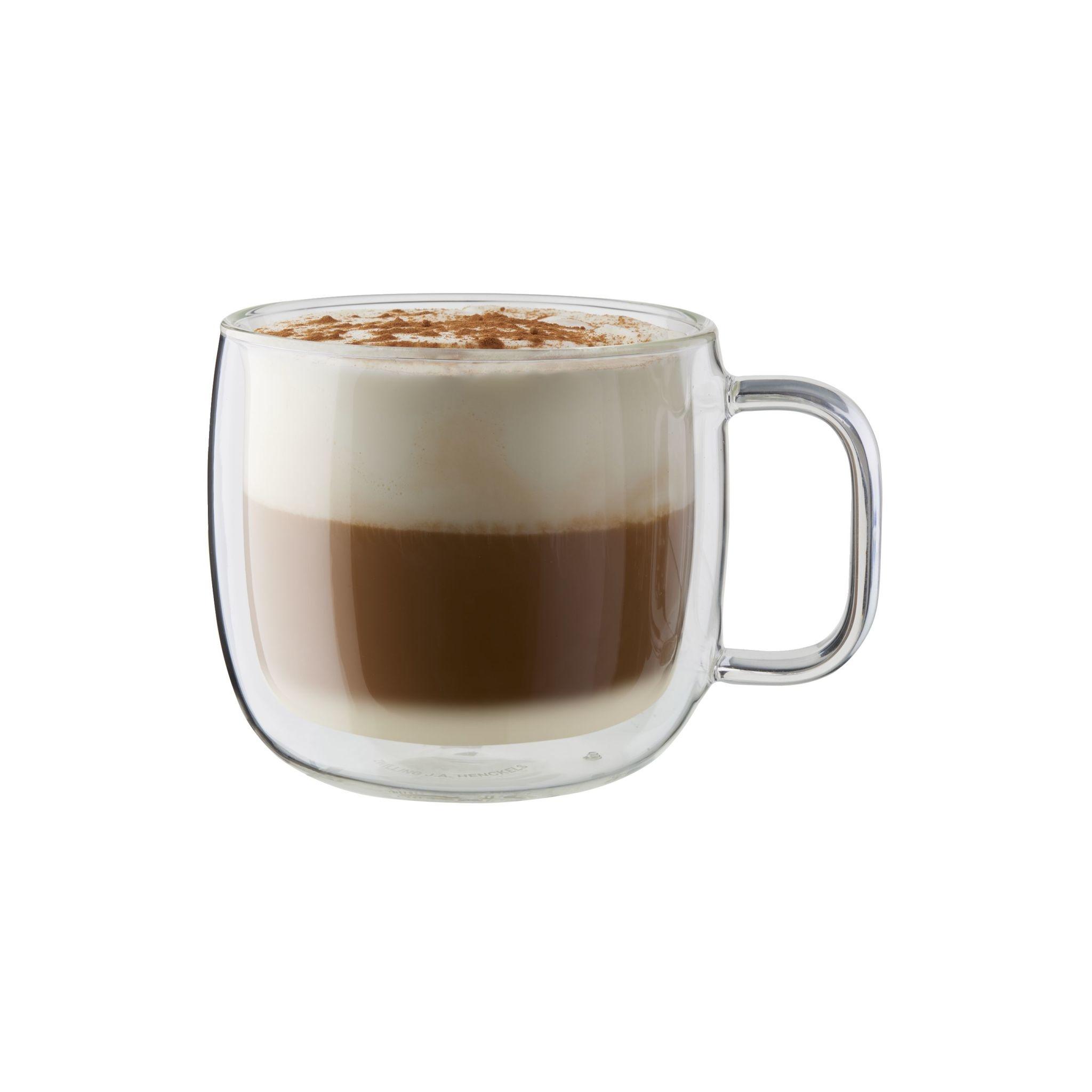 Zwilling Sorrento Plus 2-Piece Double Wall Cappuccino Mug