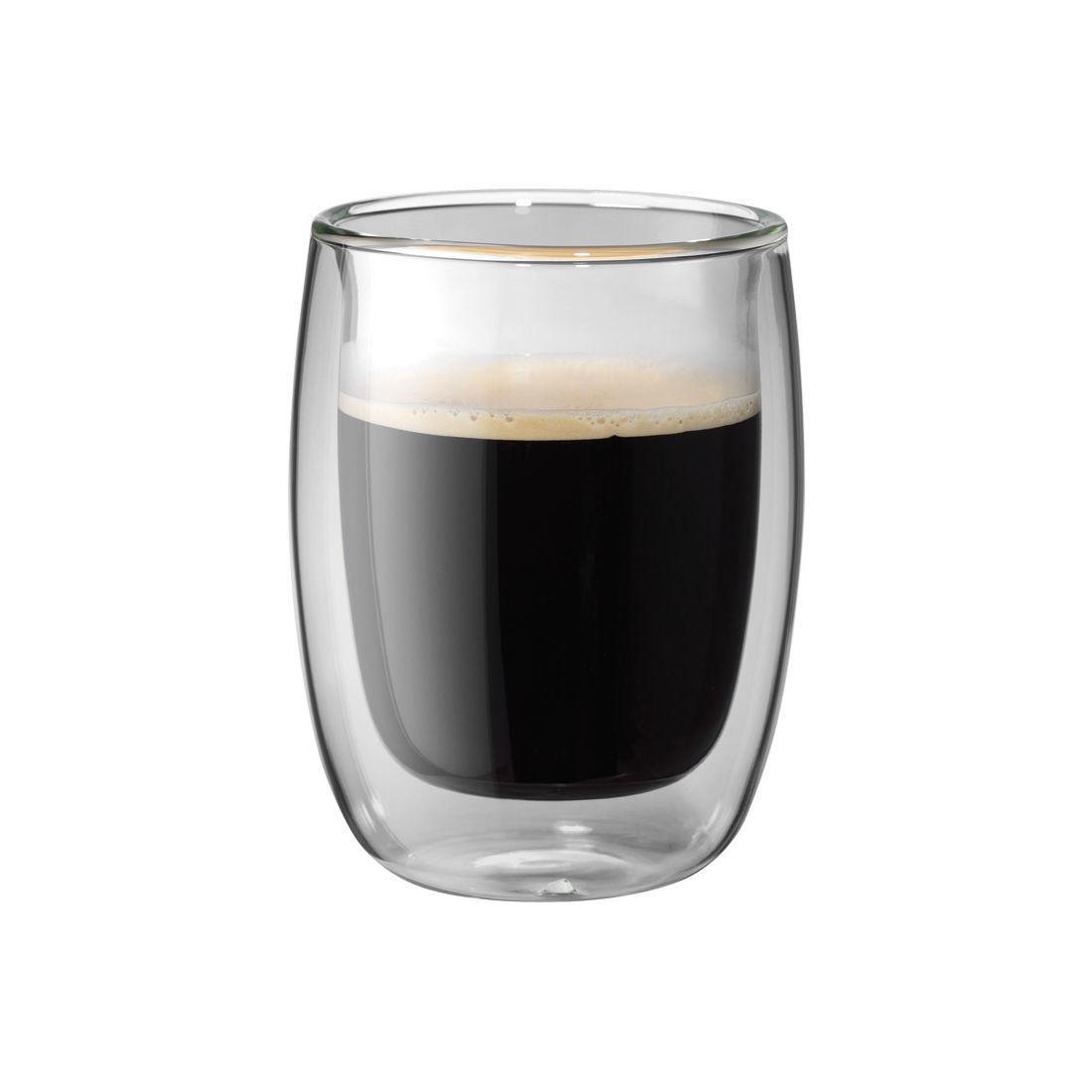 Sorrento 2-Piece 200ml Double Wall Coffee Americano Glass