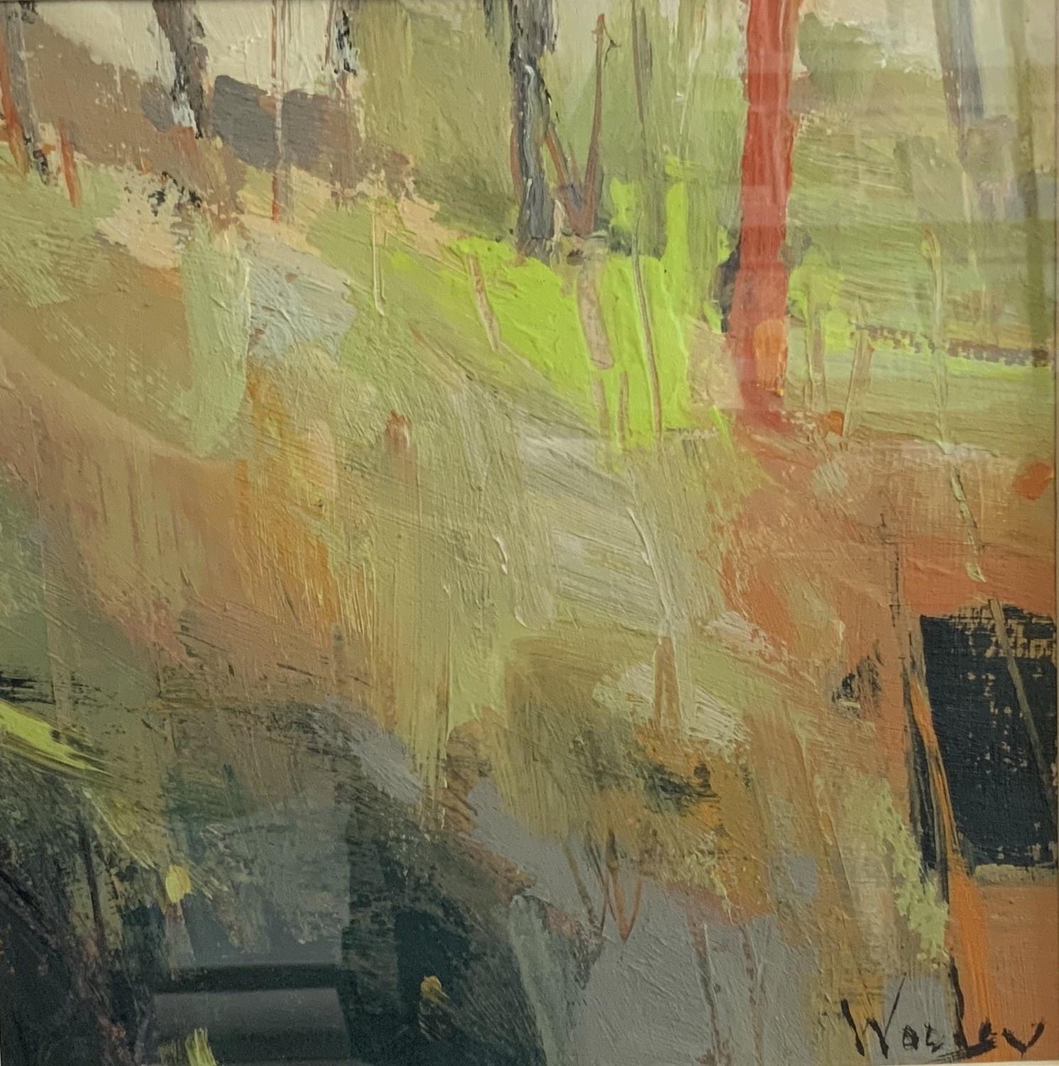 """Susan Woolgar Susan Woolgar: The Red Tree 8""""x8"""""""
