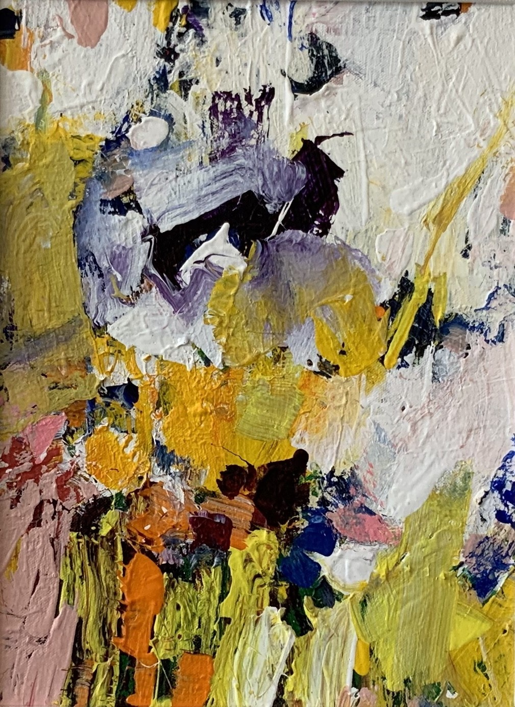 "Jeri Lynn Ing Jeri Lynn Ing: Chateau Residency Flowers No.1 9""x12"""