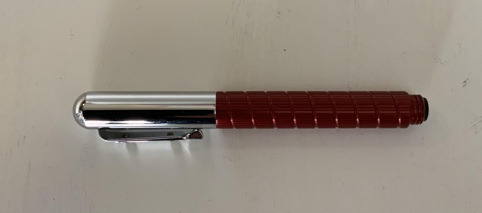 Giuliano Mazzuoli Officina Bichrome Pen End Mill - Red