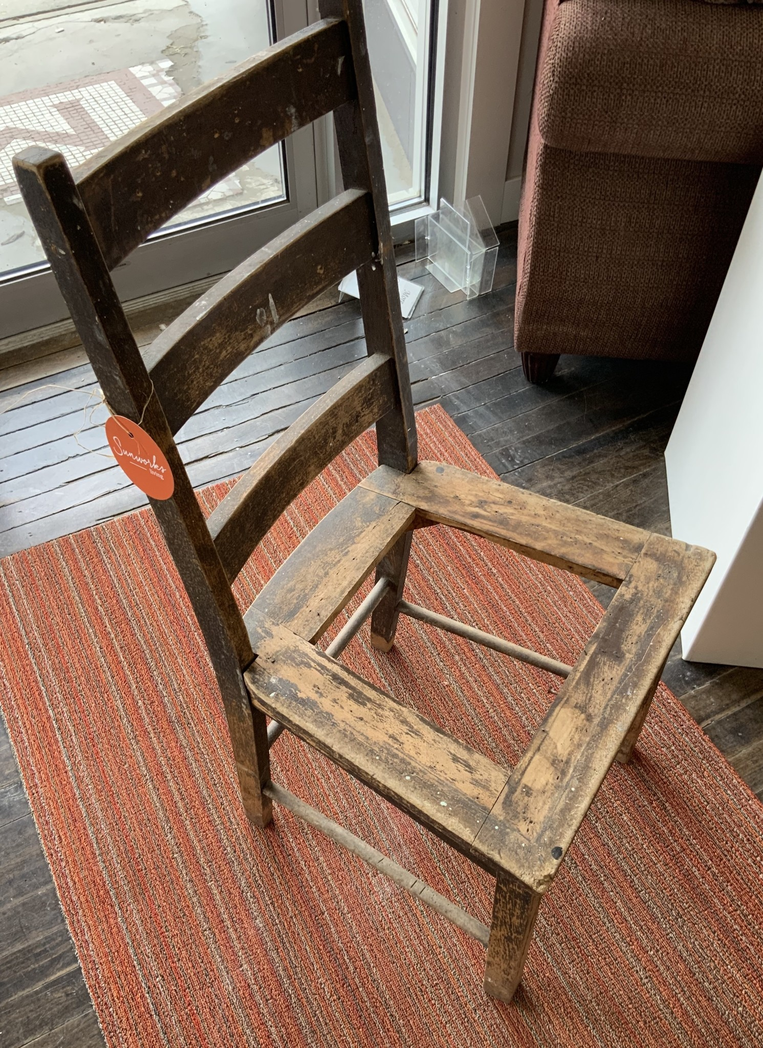 Sunworks Living Antique Wooden Chair