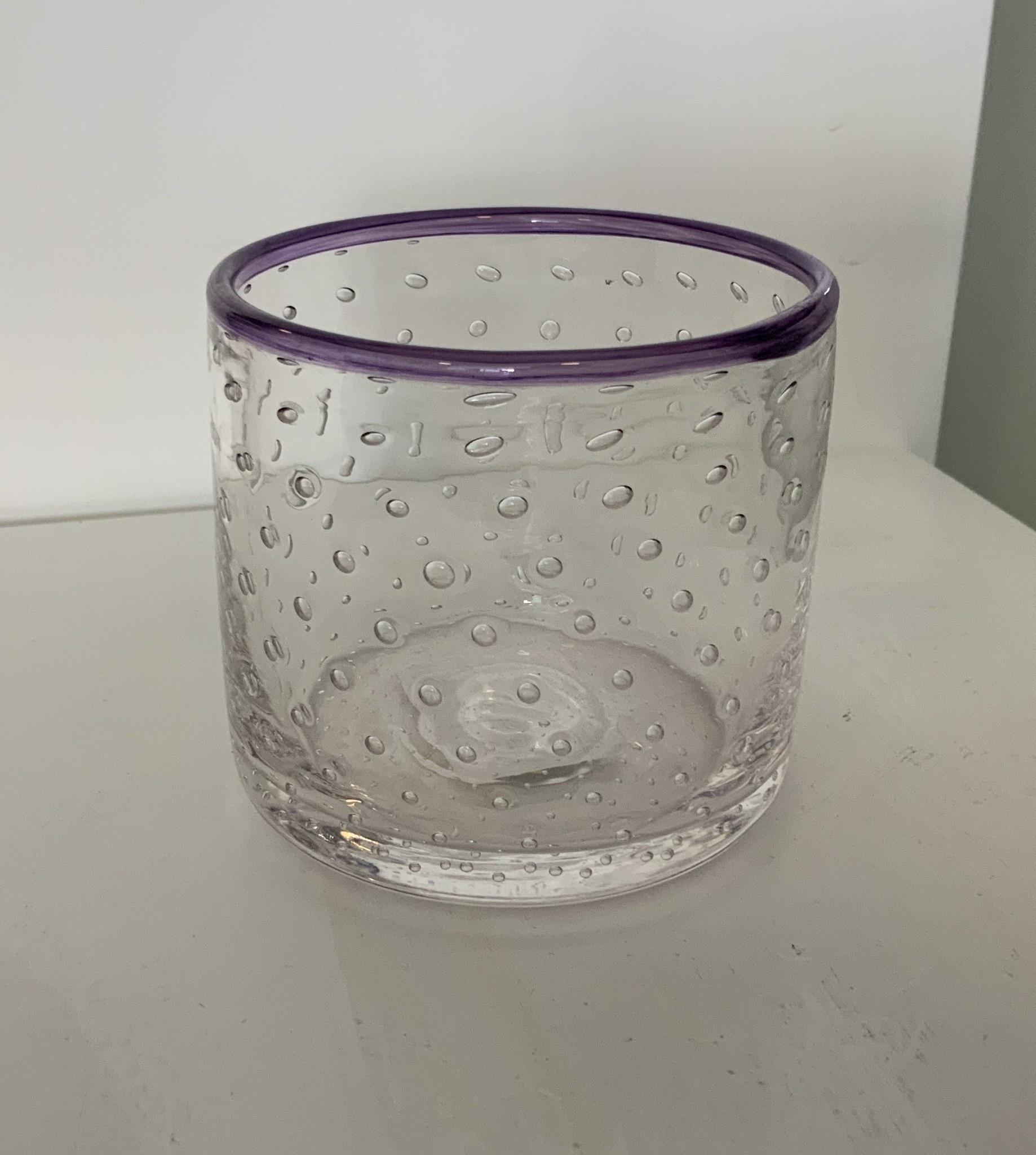 Sparrow Glassworks Bubbly Scotch Glasses