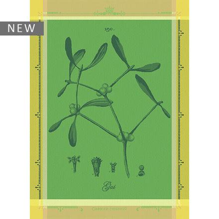 Garner-Thiebaut Gui Botanique Vert Kitchen Towel