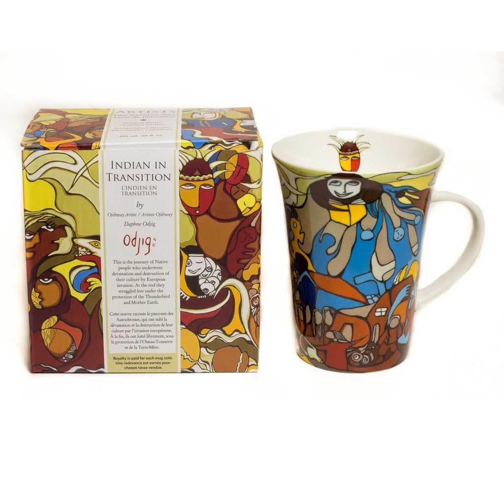 Oscardo Daphne Odjig Indian in Transition Porcelain Mug