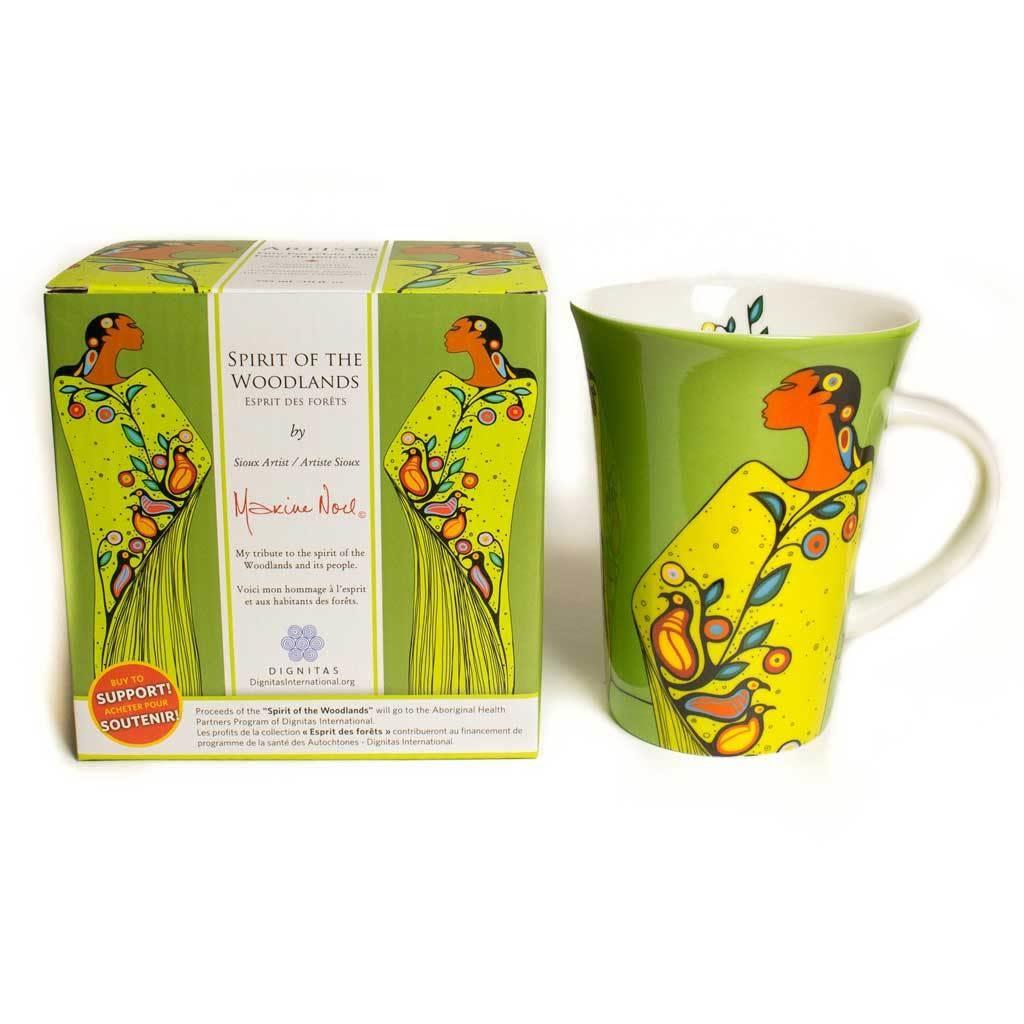 Oscardo Maxine Noel Spirit of the Woodlands Porcelain Mug