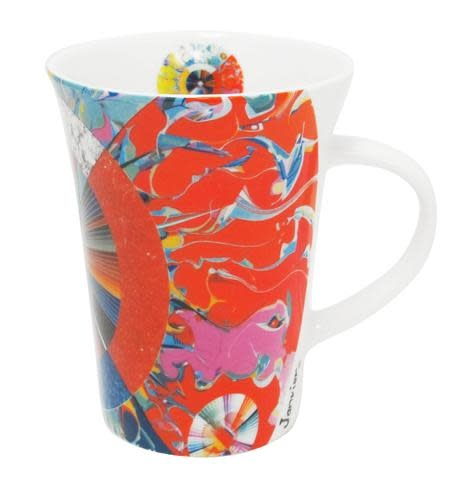 Oscardo Alex Javier Morning Star Porcelain Mug