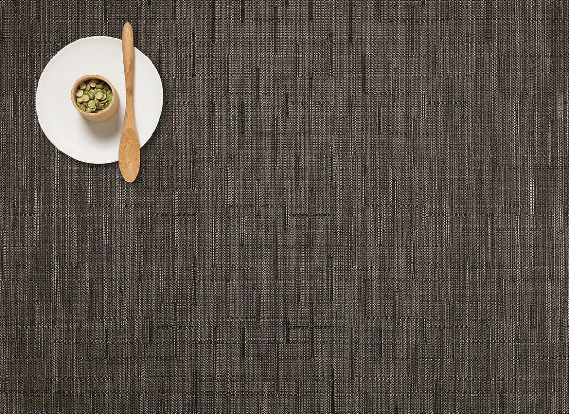 Chilewich Placemat 14x19: Bamboo CHOCOLATE