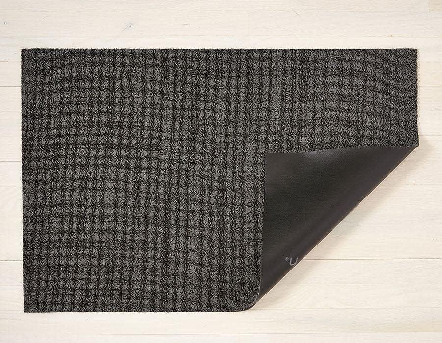 Chilewich Doormat 18x28: Shag Solid MERCURY