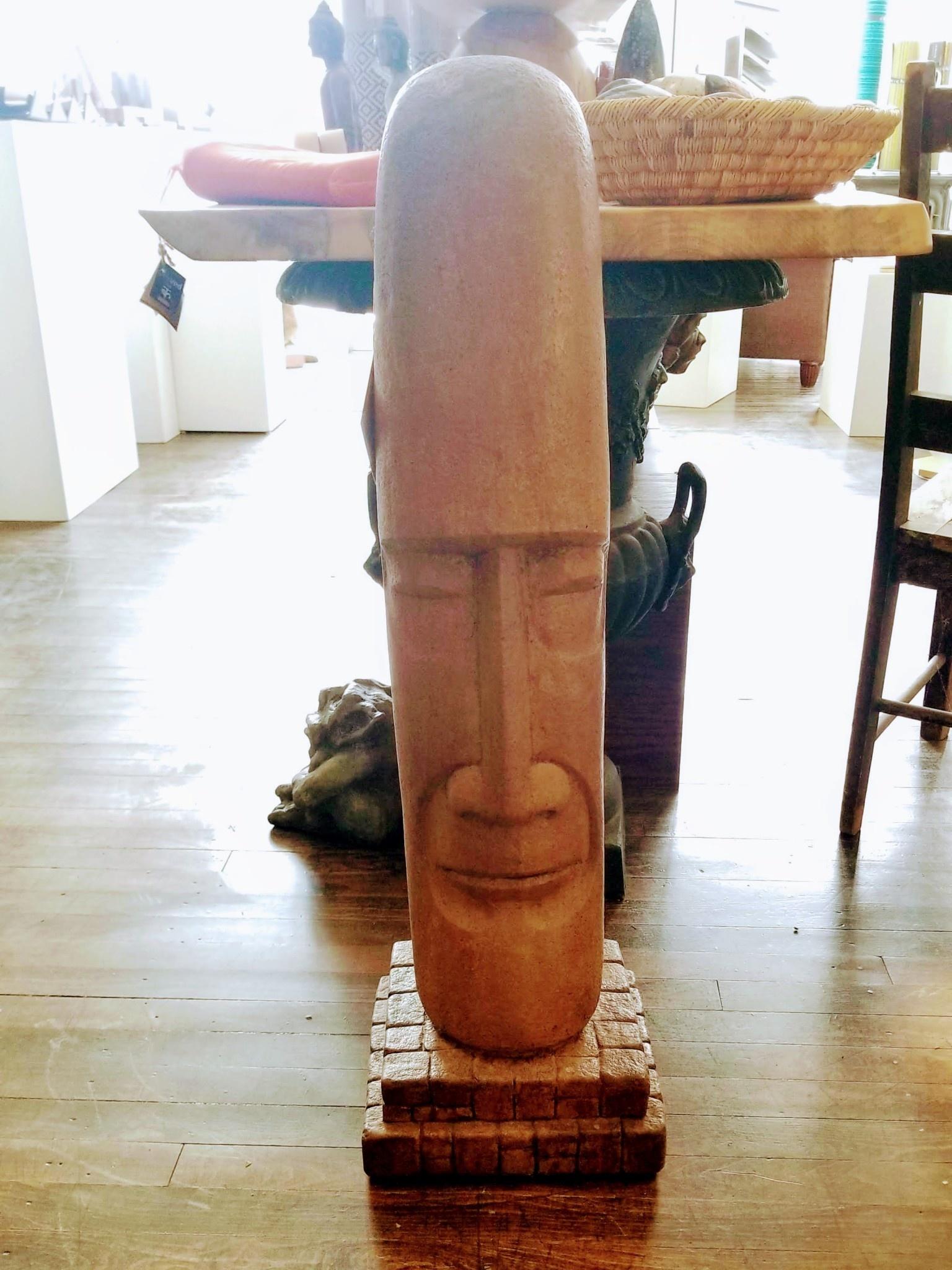 Tiki Head Mesoamerican