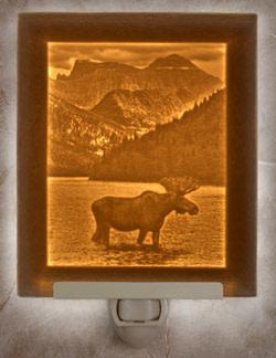 The Porcelain Garden Majestic Moose