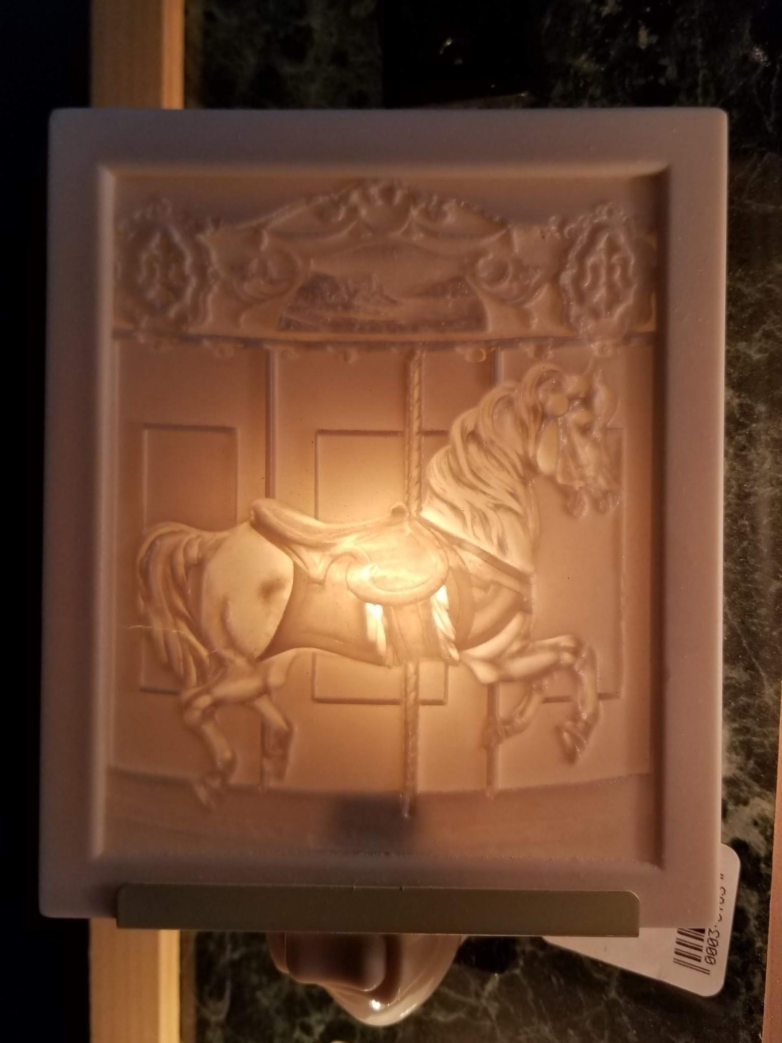 The Porcelain Garden Carousel Horse