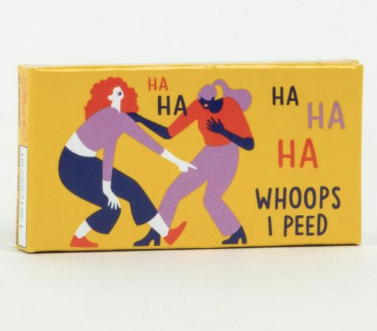 Blue Q Gum: Ha Ha Ha Whoops I peed