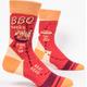 Blue Q Men's Socks: BBQ