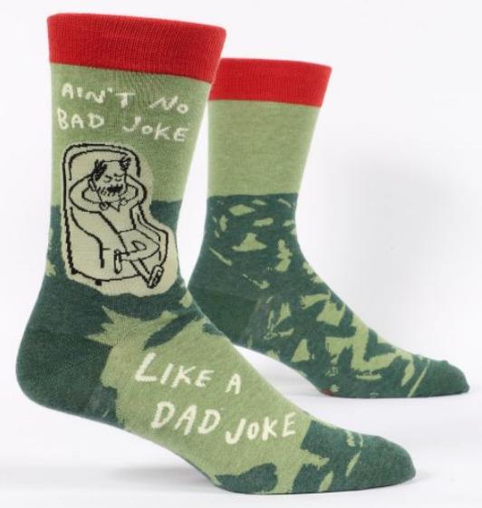 Blue Q Men's Socks: Dad Joke