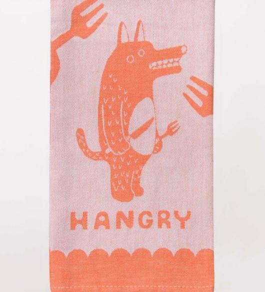 Blue Q Dish Towel: Hangry