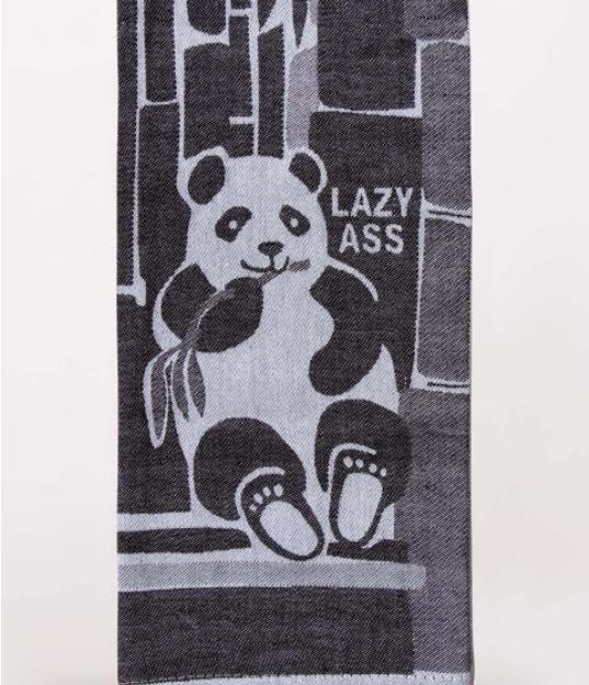 Blue Q Dish Towel: Lazy Ass