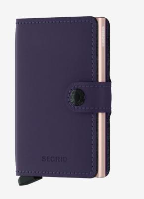 Secrid Miniwallet Purple Matte