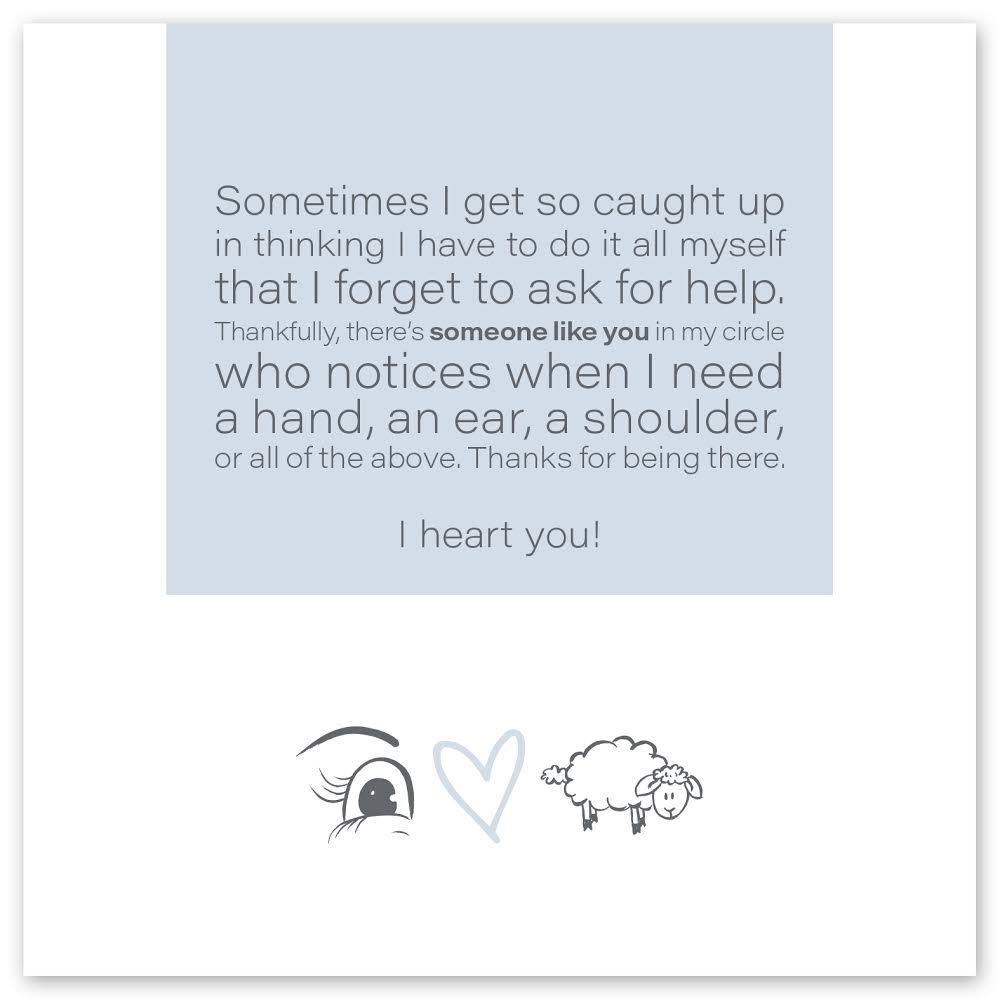 Wild Heart Studios Wild Heart Studio Card: Someone like you
