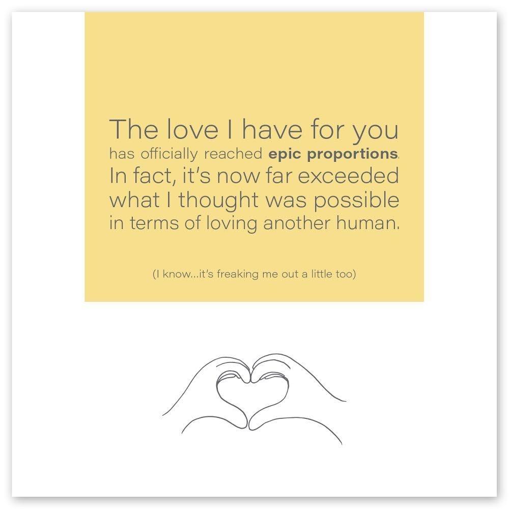 Wild Heart Studios Wild Heart Studio Card: Love I have for you
