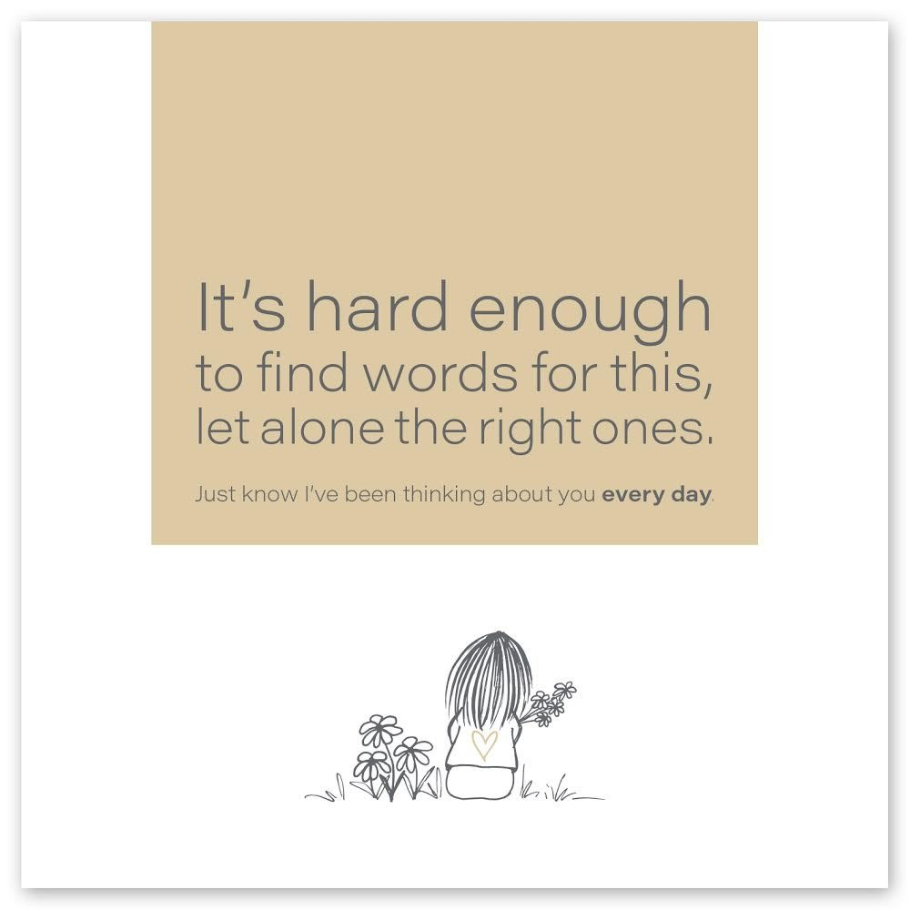 Wild Heart Studios Wild Heart Studio Card: Hard enough to find the right words
