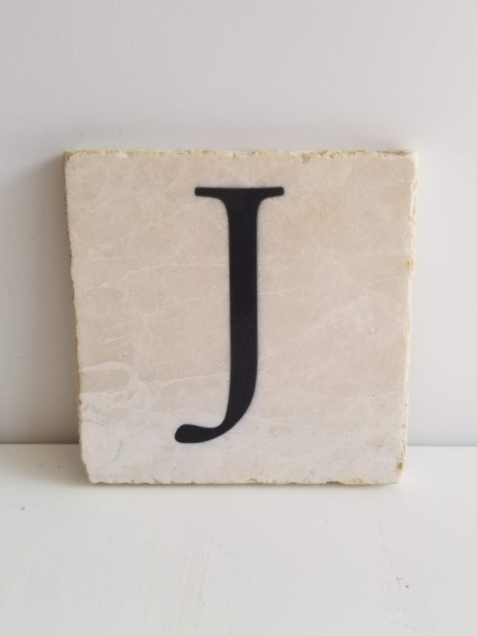 Marble Coaster - J