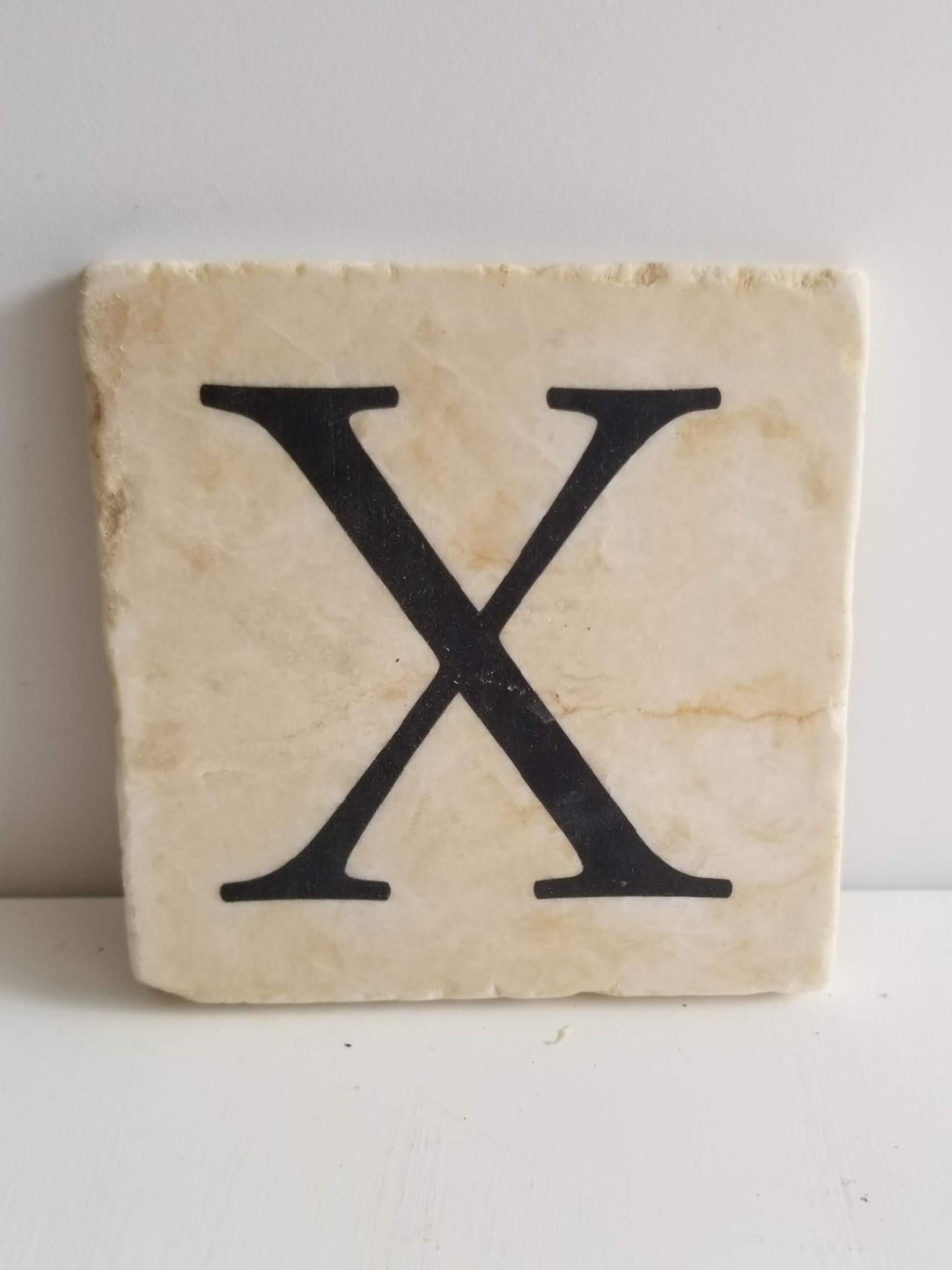 Marble Coaster - X