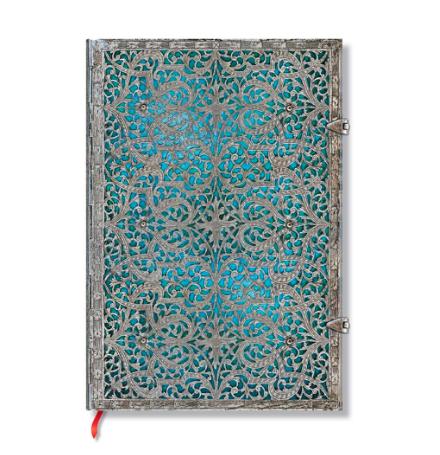 Paperblanks Grande Unlined: Maya Blue