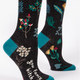 Blue Q Women's Crew Socks: You Fancy Bitch