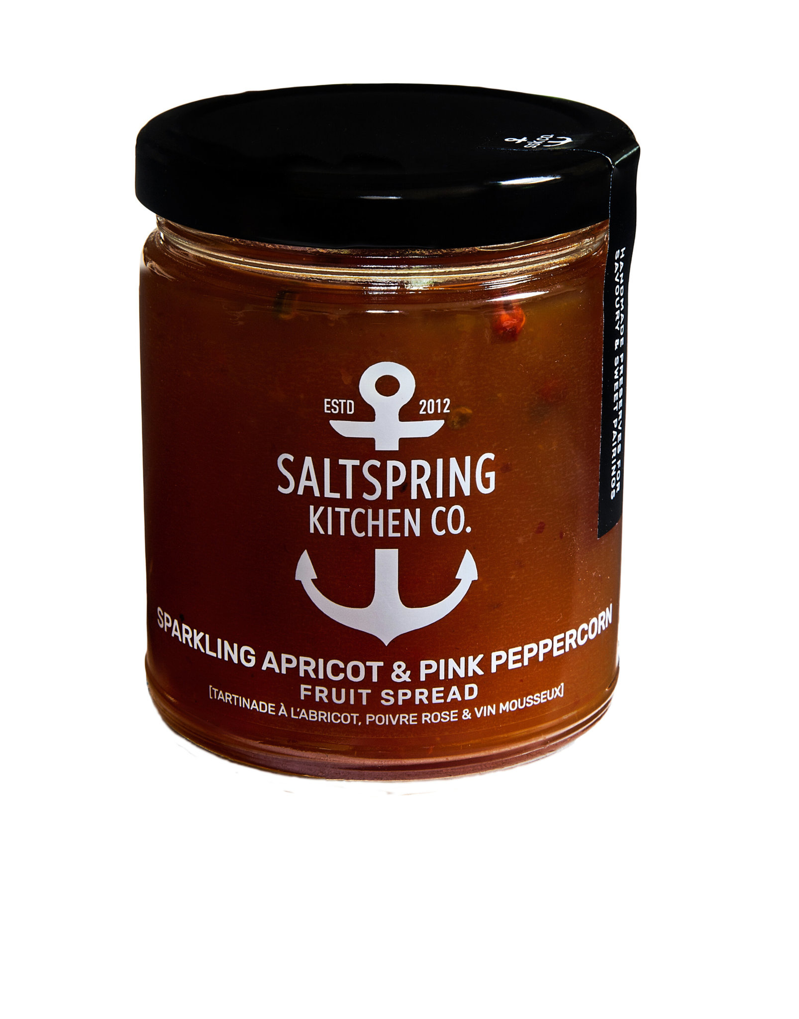 SaltSpring Kitchen Co. Sparkling Apricot With Pink Peppercorn 270ml