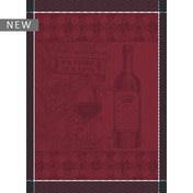 """Garner-Thiebaut Foire Aux Vins Bordeaux Kitchen Towel 22"""" x 30"""""""