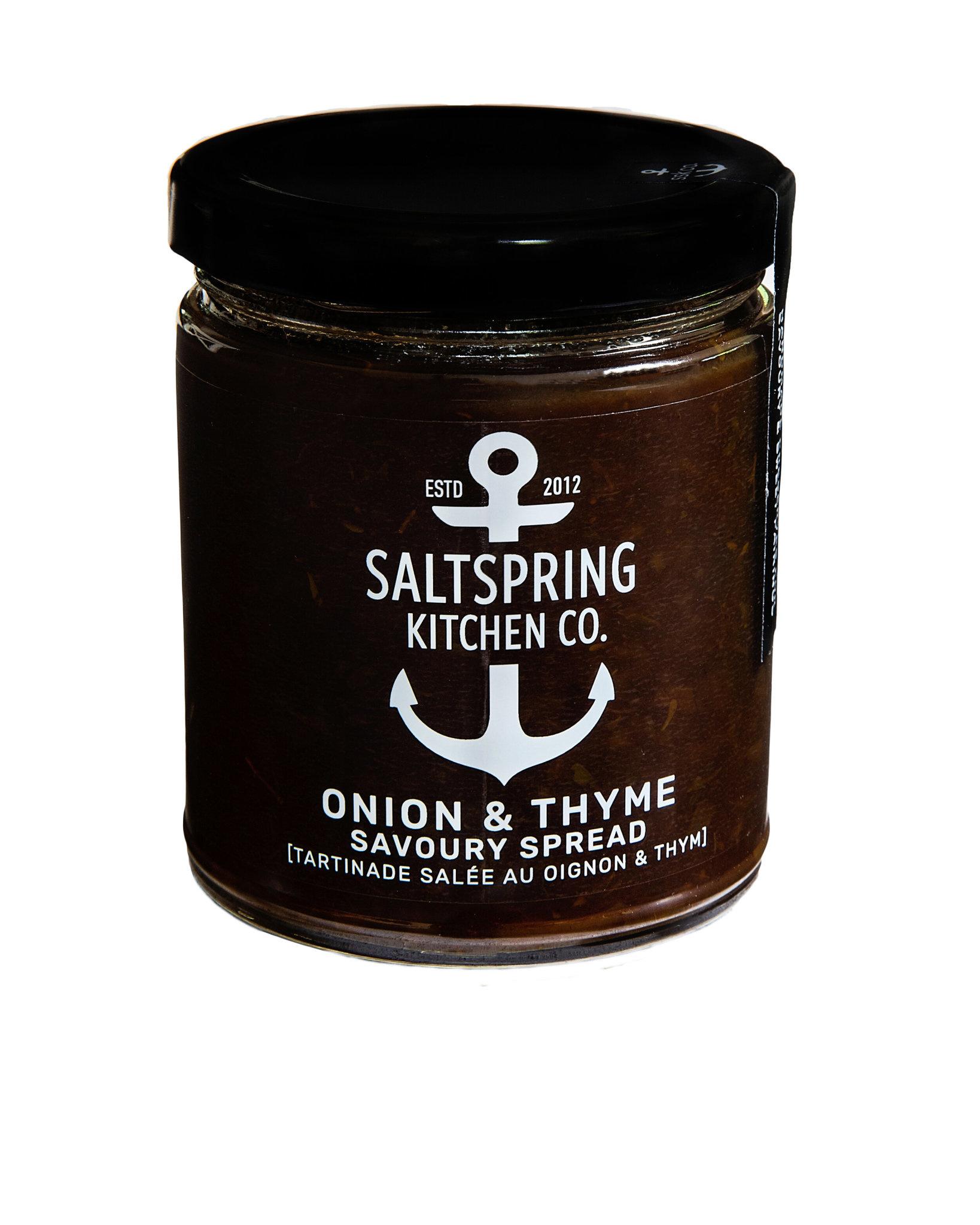 SaltSpring Kitchen Co. Onion & Thyme Savoury Spread 270ml