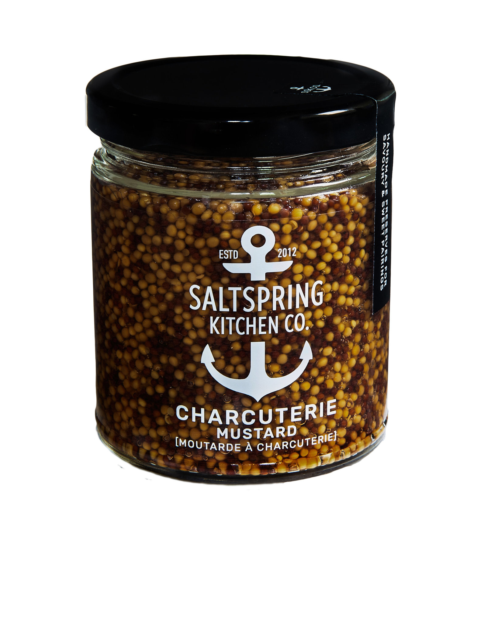 SaltSpring Kitchen Co. Charcuterie Mustard 270ml