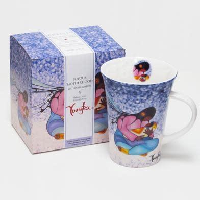 Oscardo Cecil Youngfox Joyous Motherhood Porcelain Mug