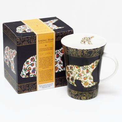 Oscardo Dawn Oman Spring Bear Porcelain Mug