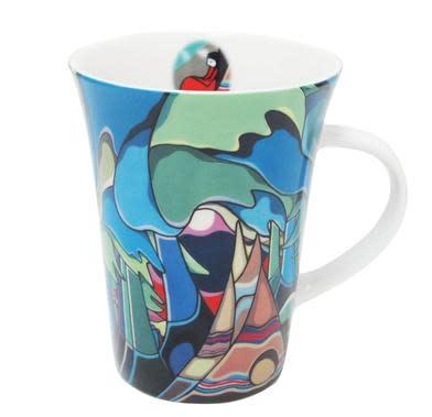 Oscardo Daphne Odjig And Some Watched the Sunset Porcelain Mug