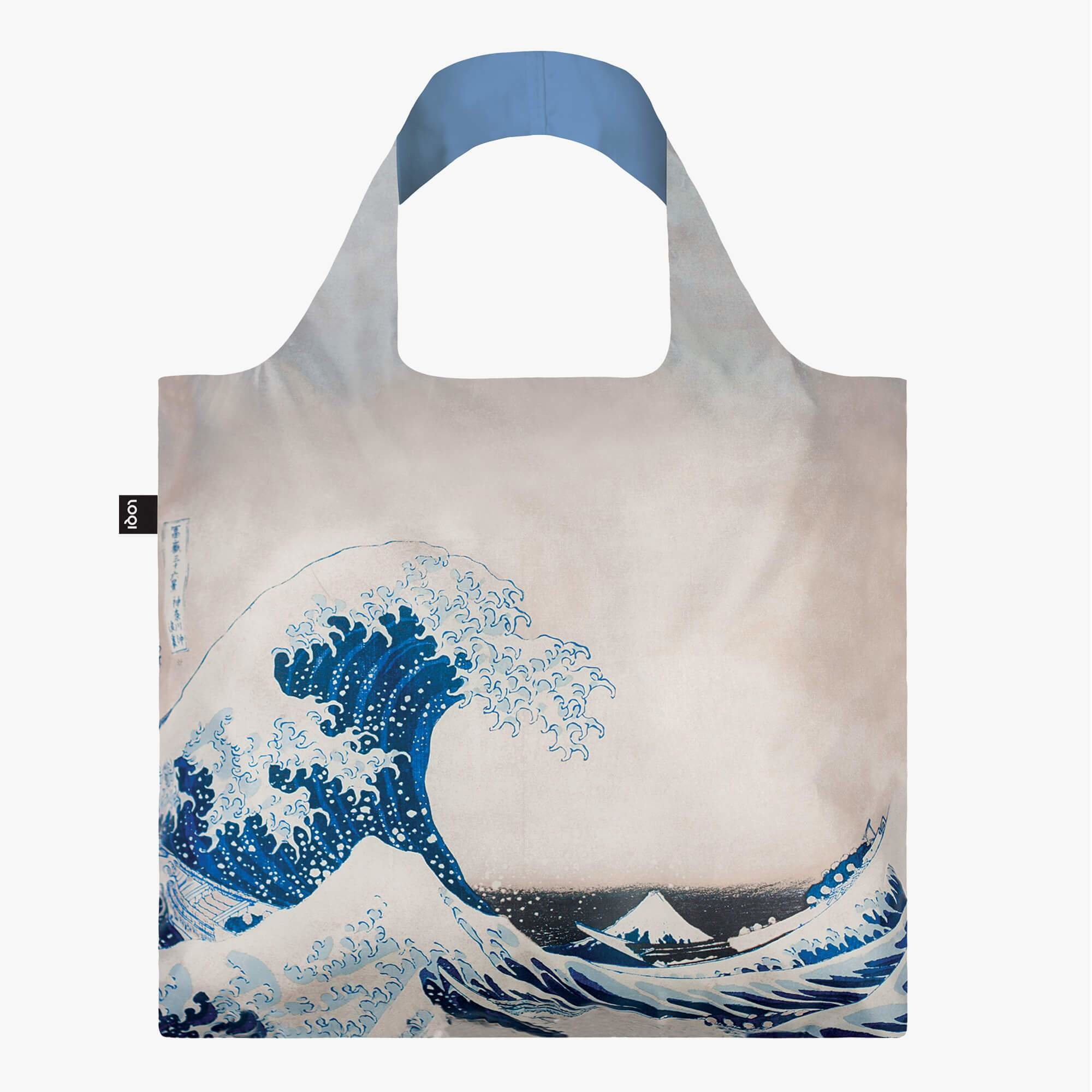 Loqi Tote Bag - Museum - Hokusai - The Great Wave