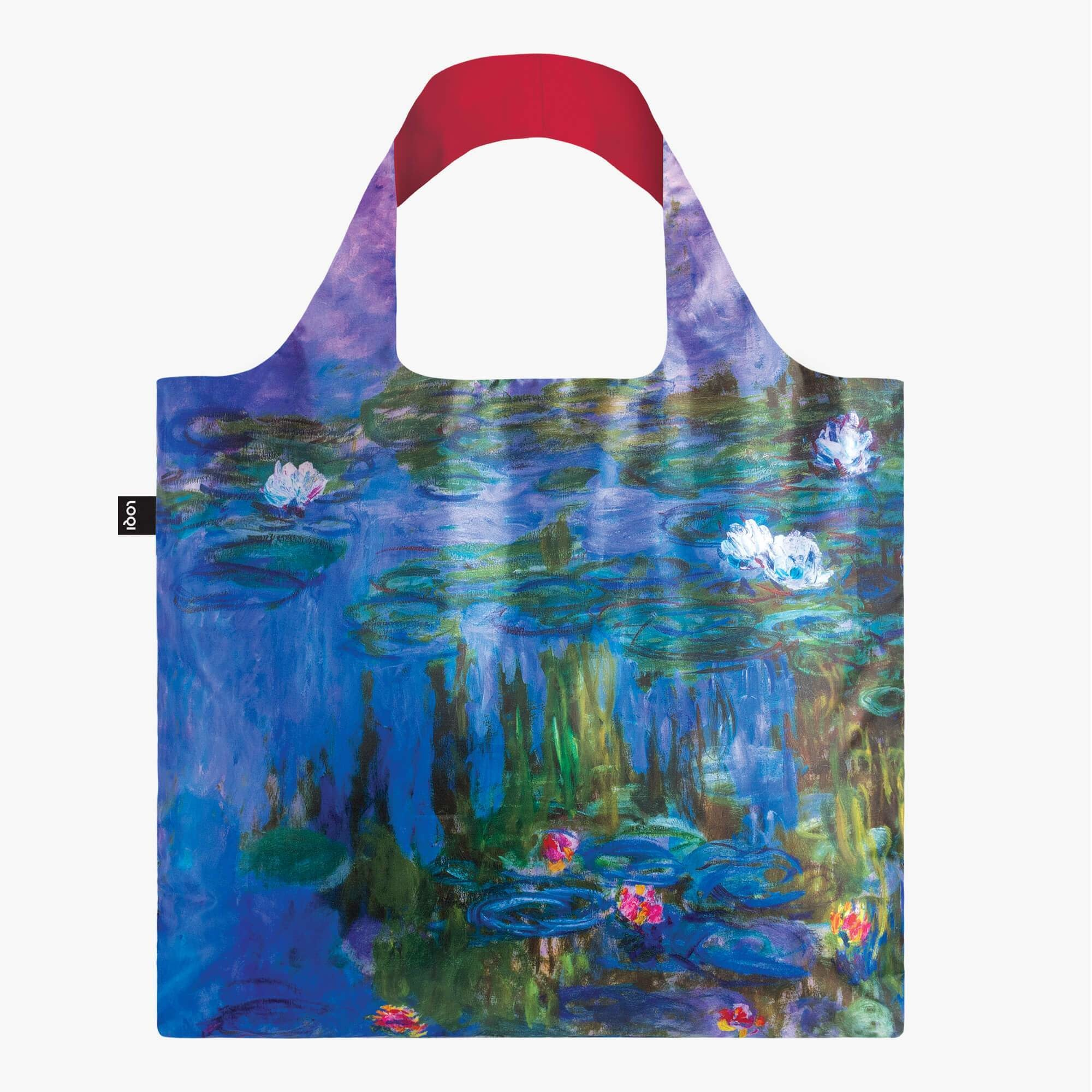 Loqi Tote Bag - Museum -Claude Monet - Water Lilies