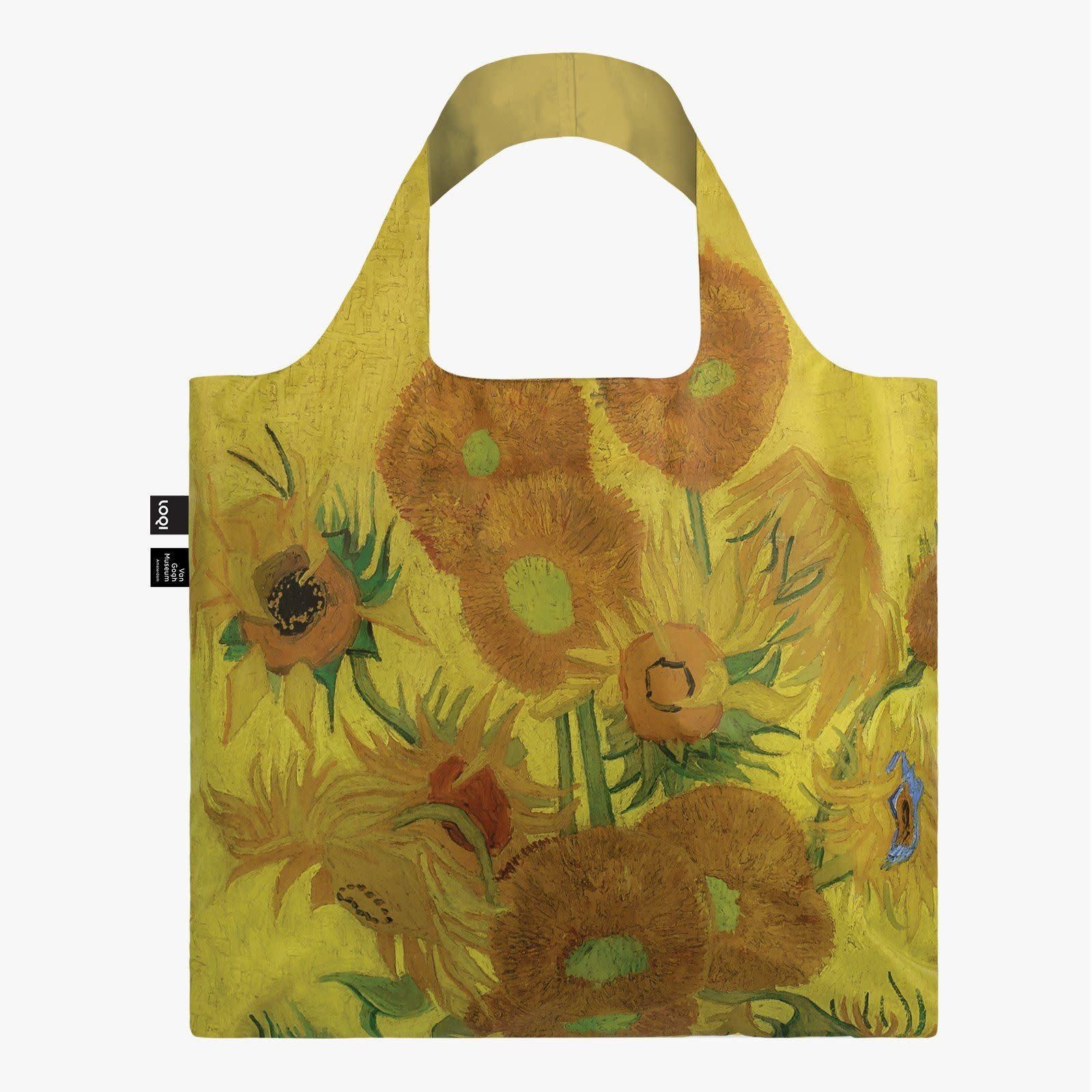Loqi Tote Bag - Museum - Van Gogh - Sunflowers