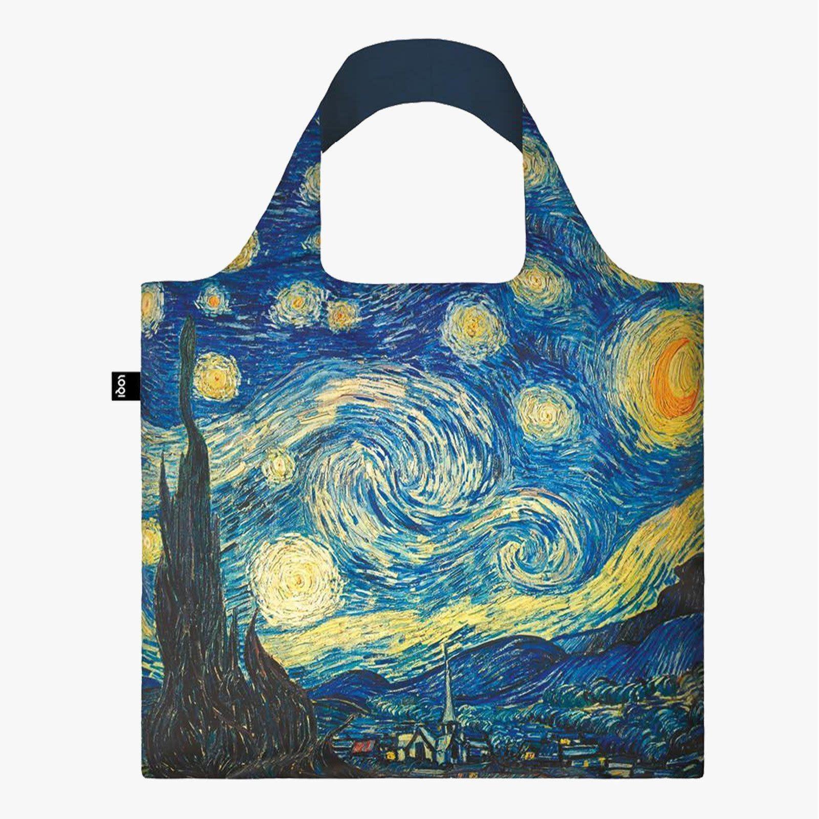 Loqi Tote Bag - Museum - Van Gogh - The Starry Night 1889