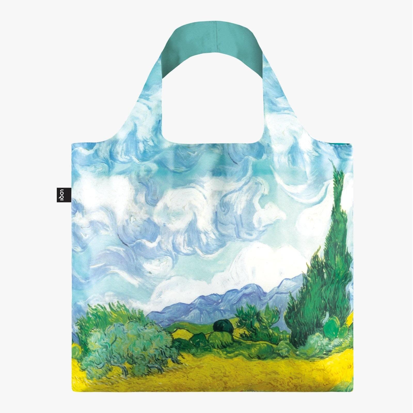 Loqi Tote Bag - Museum - Van Gogh -  A Wheat Field