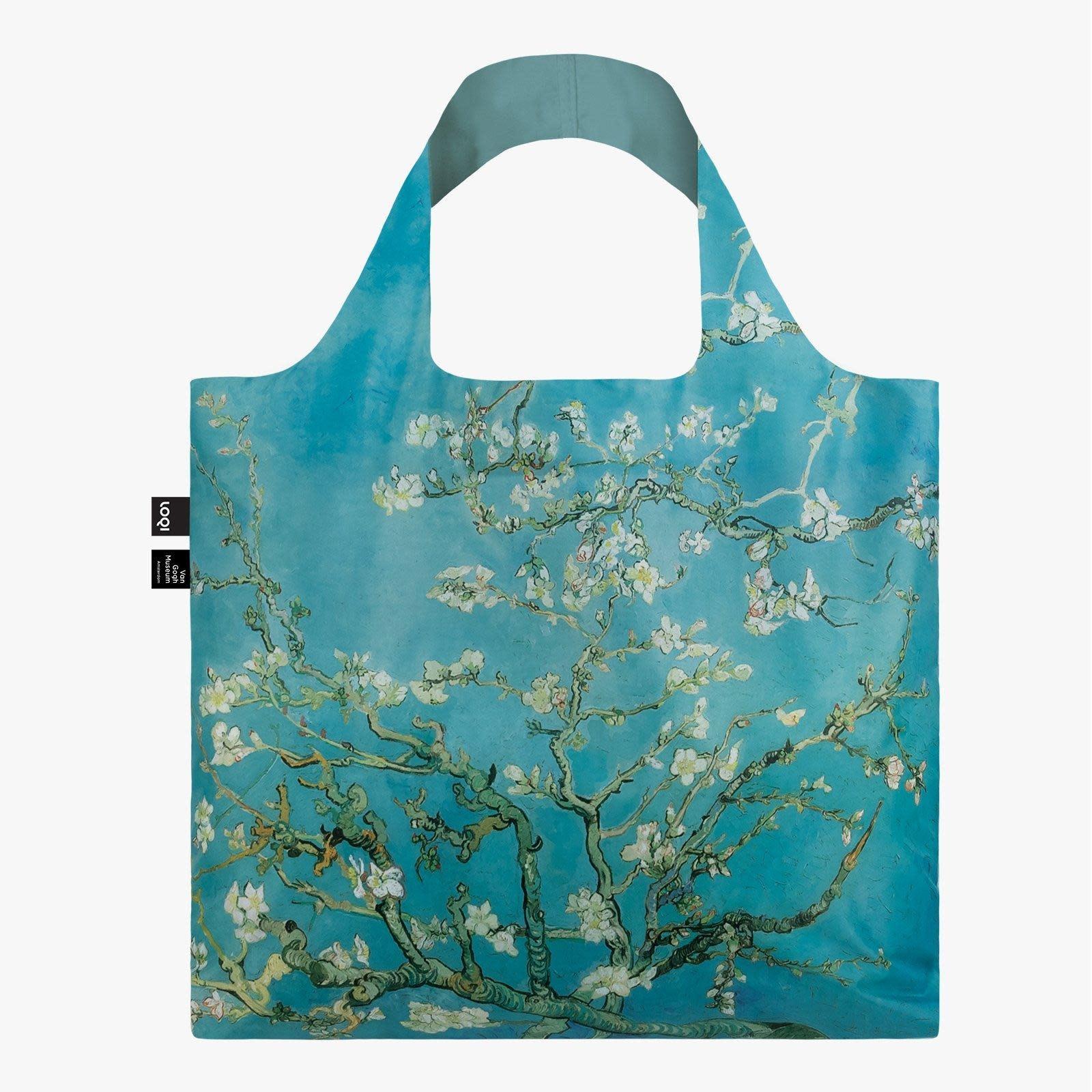 Loqi Tote Bag - Museum - Van Gogh - Almond Bloom