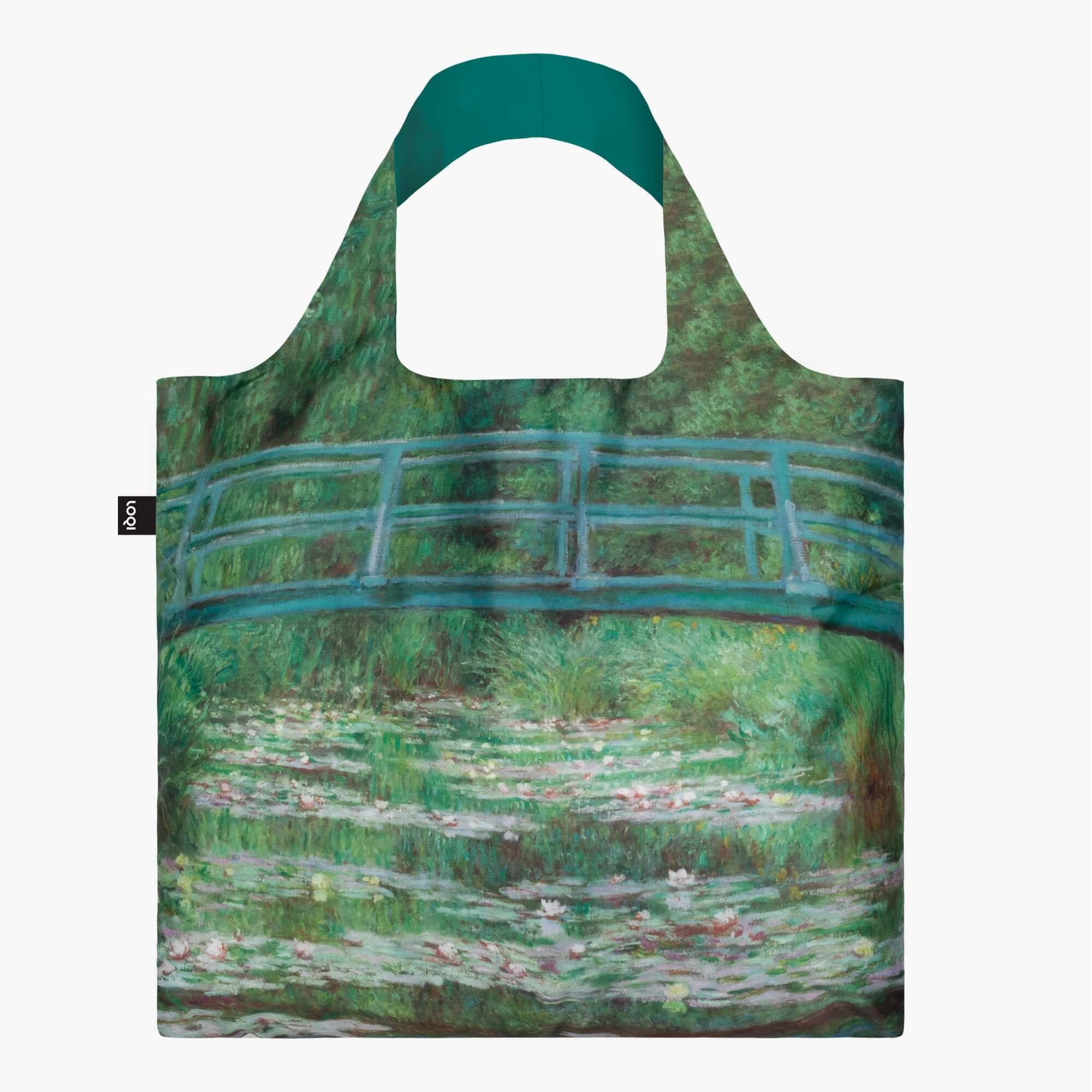 Loqi Tote Bag - Museum - Claude Monet - The Japanese Footbridge