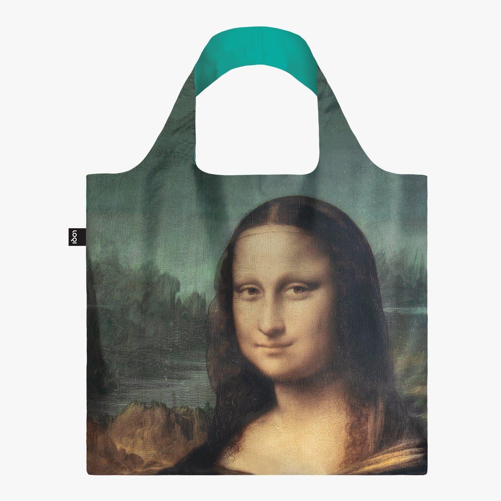 Loqi Tote Bag - Museum - Leonardo Da Vinci- Mona Lisa