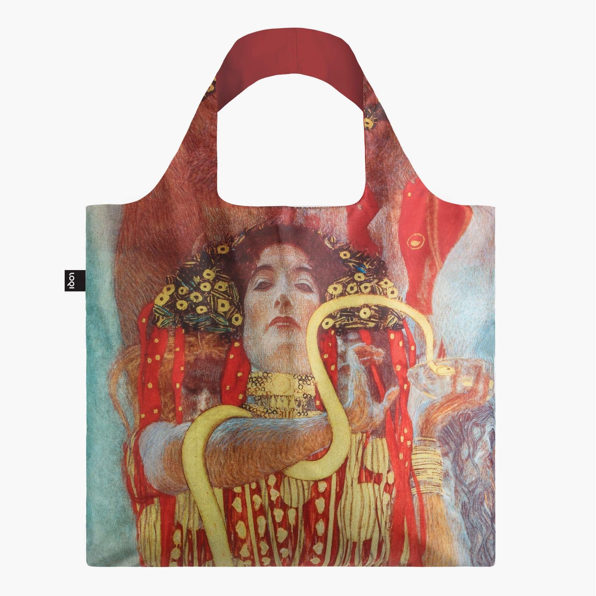Loqi Tote Bag - Museum - Gustav Klimt- Hygieia