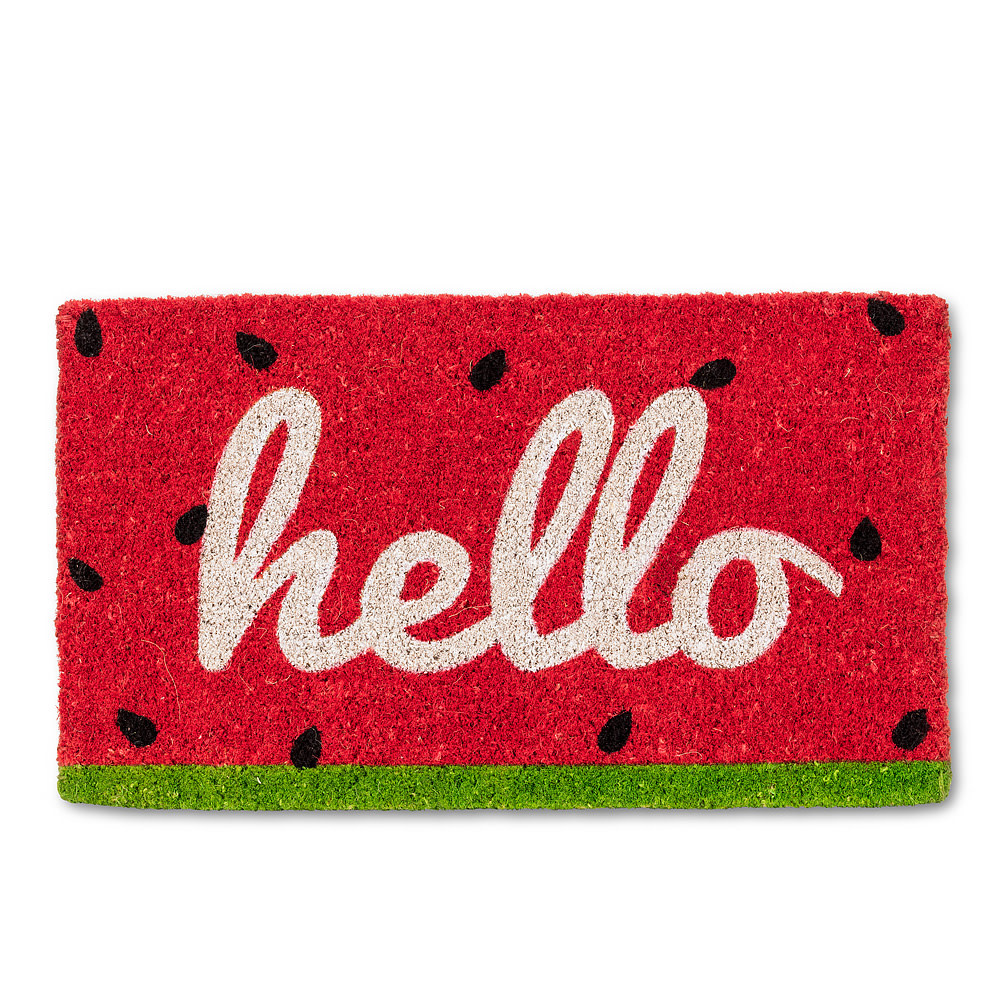 Abbott Doormat - Watermellon Hello
