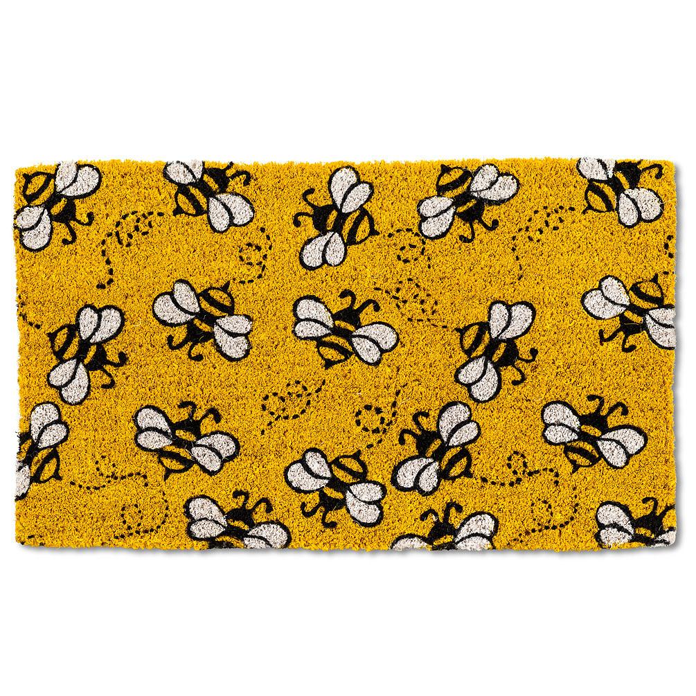 Abbott Doormat - Allover Flying Bees