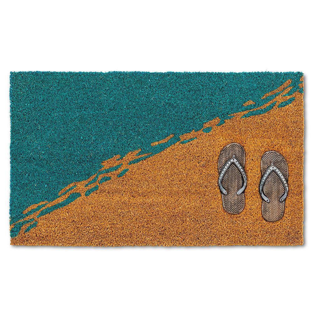 Abbott Doormat - Flip Flops on Beach