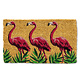 Abbott Doormat - Flamingo Parade