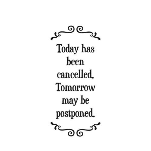 Kitchen Towel: Cancel Today